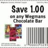 Wegmans Chocolate Bar Coupon