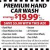 Tint World Car Wash Coupon