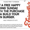 Friendly's Free Sundae Discount Coupon