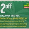 Pollo Tropical Family Meal Discount