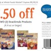 Whole Foods Snackimals Coupon