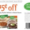 Whole Foods Pacific Beans Coupon