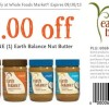 Whole Foods Earth Balance Nut Butter