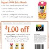 Whole Foods 365 Organic Juice Blend Coupon