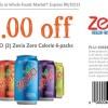 Whole Foods Zevia Zero Calorie Coupon