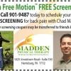 Free Back Pain Screening