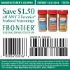 Frontier Seafood Seasonings Discount Coupon