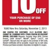 $10 Dollars off Bob's Stores Mobile Phone Coupon