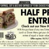 TooJays Half Off New Entree Coupon BOGO