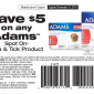 Printable Coupon Save $5 on Adams Flea and Tick Products