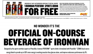 FREE Ironman Perform Sports Drink Printable Coupon