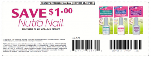 Printable Coupon Nutra Nail SAVE $1.00