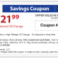 Sears Printable Coupon OIL CHANGE $21.99