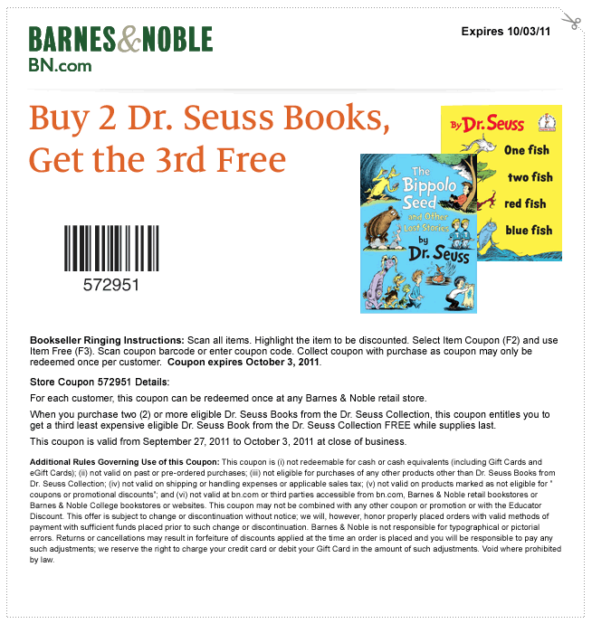 Jun 24, · For what it's worth, I just received an e-mail from Barnes and Noble promoting a buy 2 get 1 free dvd sale. This is an in-store only event, and lasts from June 1 to June