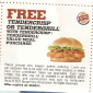 Burger King Free Tendercrisp or Tendergrill with Value Meal Purchase