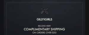 Gilly Hicks Free Shipping Limited Time Only!