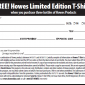 Printable Coupon FREE Limited Edition T-Shirt