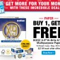 Buy 1 Get 1 Free Boise X-9 Hi-Brite Multipurpose Paper Instant Coupon