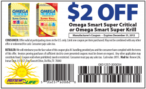 $2 OFF OMEGA SMART Ultimate Fish Oils