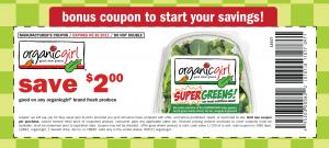 Organic Girl Save $2 Printable Coupon!
