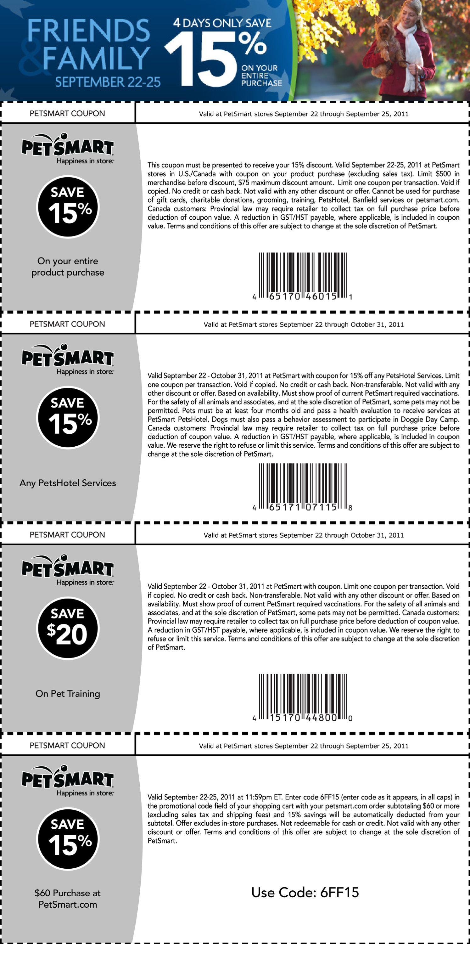 Petsmart coupon codes