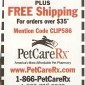 Online Coupon PetCareRx.com $10 OFF $35 and Free Shipping!