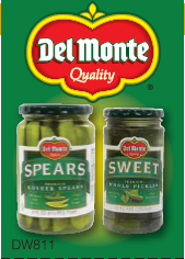 Del Monte Gedney and Cains Pickles Printable Coupons