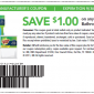 Scotch-Brite Printable Coupon save $1 on Bathroom Solutions Product