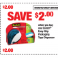 Multiple Scotch Tape Brand Printable Coupons Save $5.50 Total