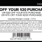 Express Printable Coupon and Online Coupon Save $75 OFF!