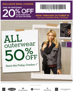 banana republic factory printable coupon 20 percent off
