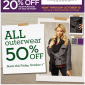 Banana Republic Factory Printable Coupon for 20% OFF