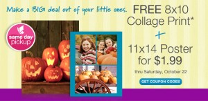 Free 8×10 Collage Print Coupon Code Walgreens