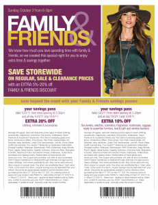 family and friends printable coupon sears