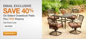 Home Depot 40% Percent Coupon Code Furniture
