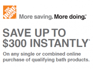 Home Depot Online Coupons Save Upto $300 Instantly!