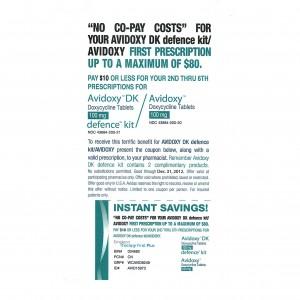 Avidoxy Printable Coupon Prescription