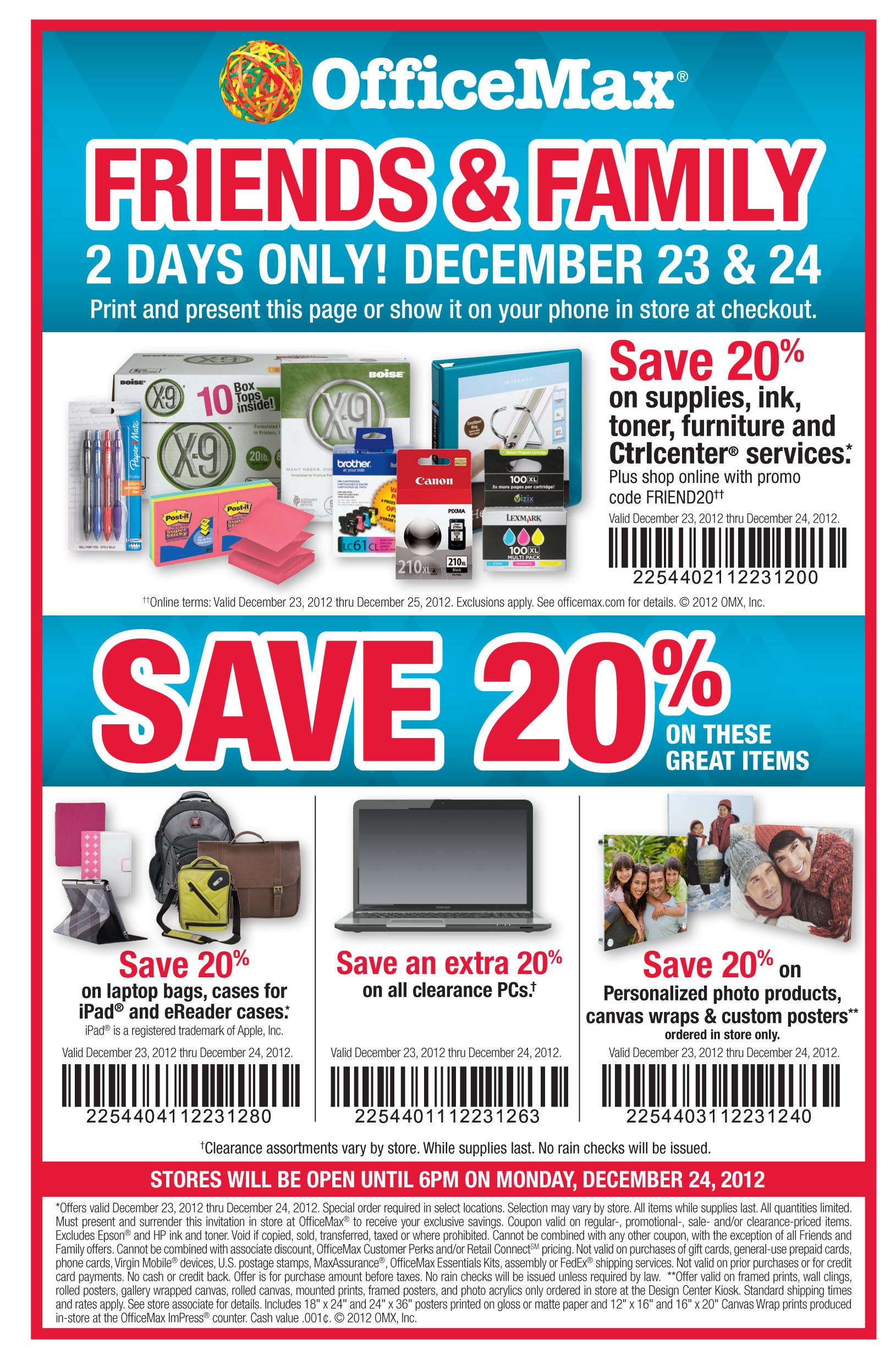 Office Max Furniture >> OfficeMax Save 20% Two Days only! | Print Coupon King