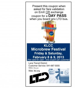 LTD Bus Fare Validation FREE Day Pass Coupon