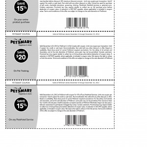 Petsmart printable coupons list