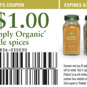 Simply Organic Coupon Printable 2012 2013