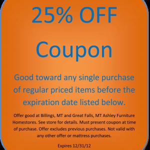 ashley home printable coupon 25 percent off