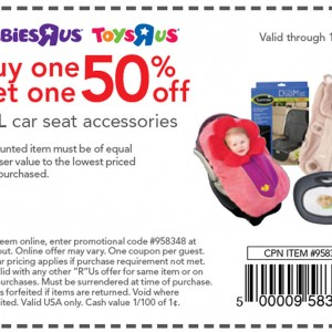 babies r us car seat accessories coupon buy one get one free