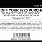 Express $75 off your $225 purchase printable coupon
