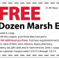 Marsh – FREE Dozen Eggs Coupon 2013