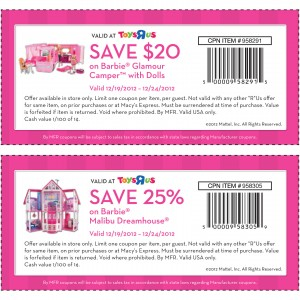 graphic about Toys R Coupons Printable identified as Toys r us barbie coupon codes printable : Pizza promotions within