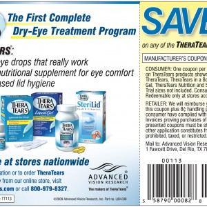 Theratears coupon 2018