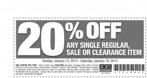 20% OFF Everything at BOB'S Stores Coupon