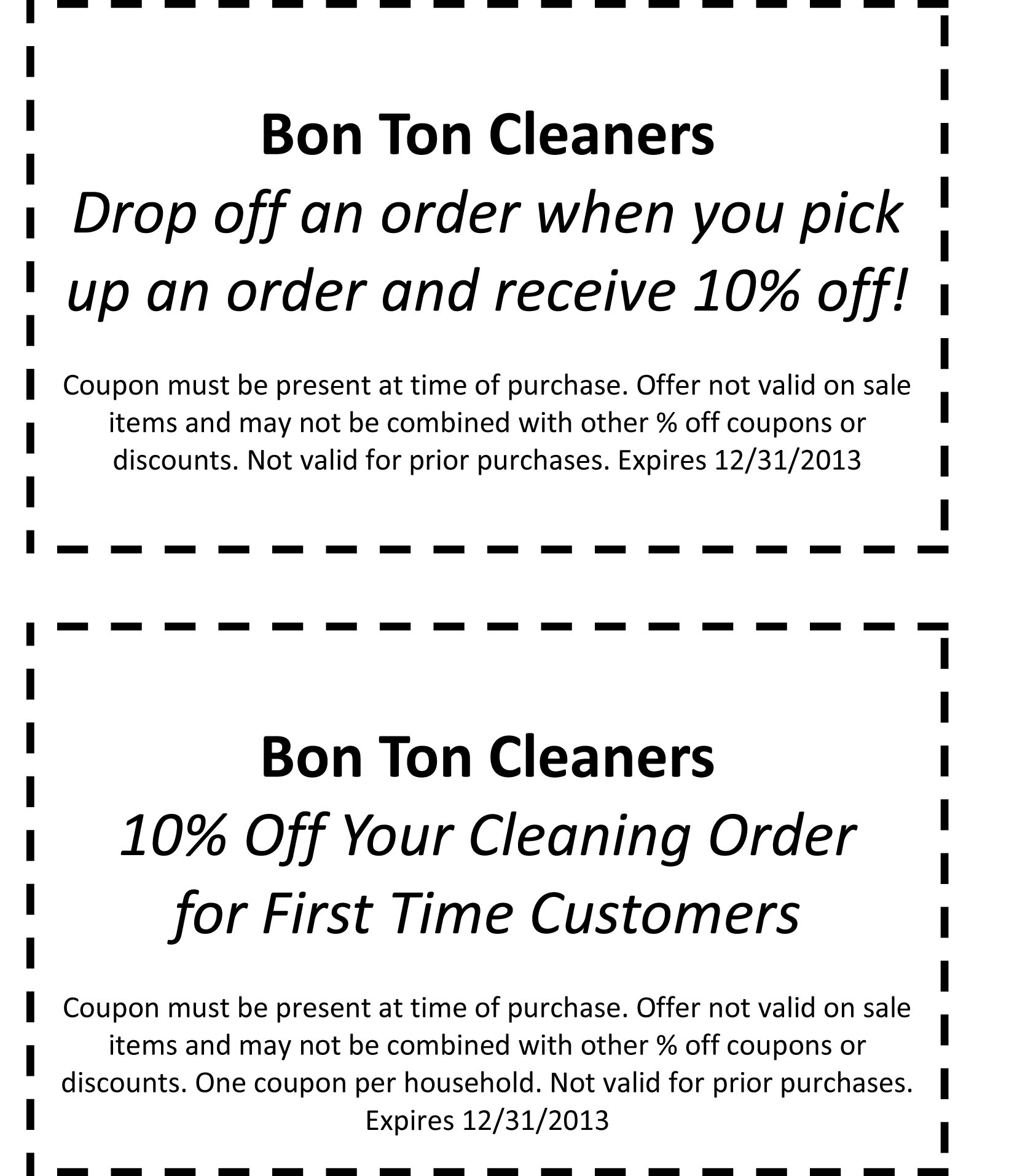 Bonton coupon codes