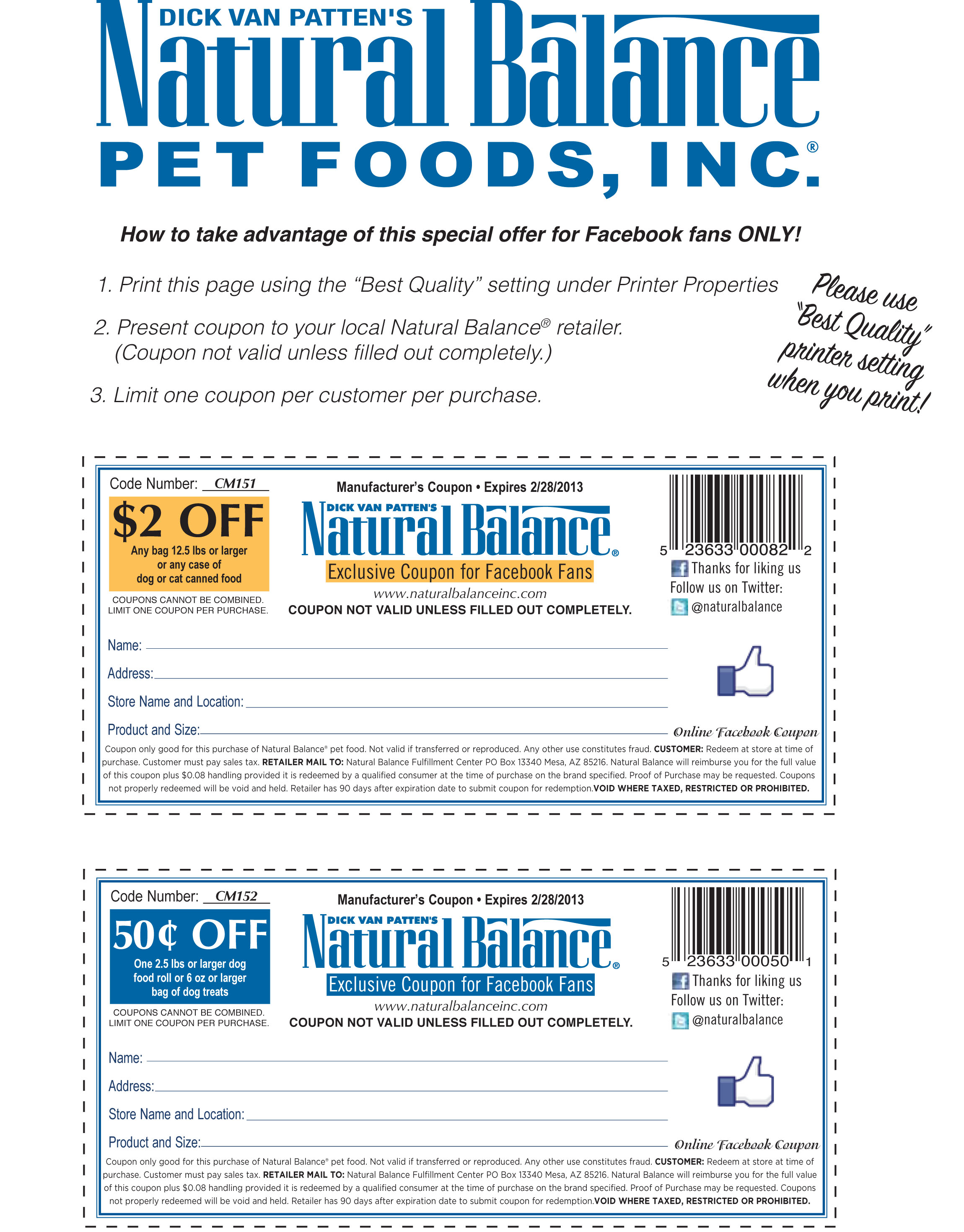 Learn About Natural Balance Pet Foods